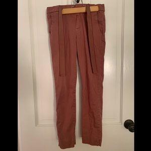 Zara Pants - Pink / orange pants
